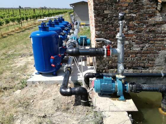 01.4 pompe irrigazione veneta