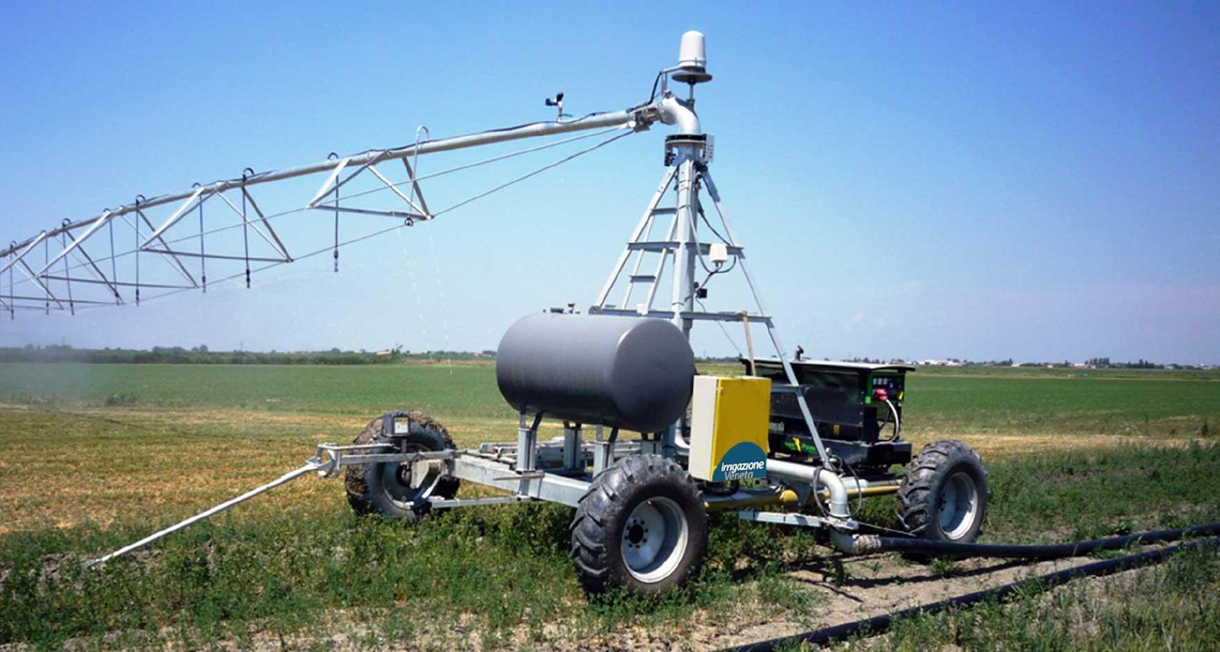 impianto di irrigazione ippodromo